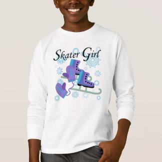 Skater-Mädchen T-Shirt