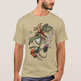 Skater-Nagetier-T - Shirt - Kiesel