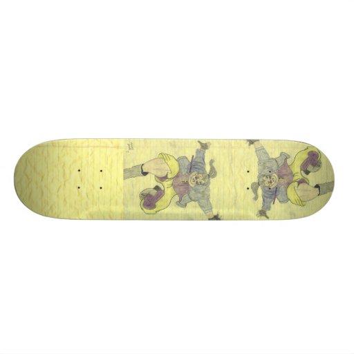 Skater-Verbrecher Skateboard Bretter