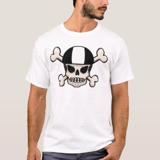 Skaterschädel und -gekreuzte Knochen T-Shirt