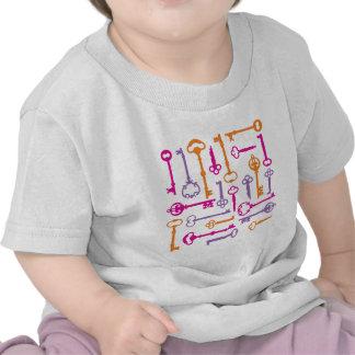Skeleto Schlüssel T-Shirts