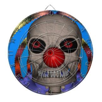 Skeleton Clown Dartscheibe