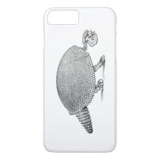 skeleton Gürteltier iPhone 8 Plus/7 Plus Hülle