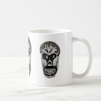 Skeleton Kopf Kaffeetasse