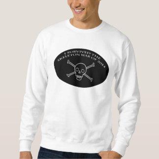 Skeleton Kriegs-Crewhals Sweatshirt