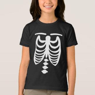 Skeleton Mädchen-T - Shirt Halloweens