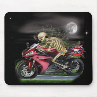 Skeleton Motorradeinzelteile Mousepad