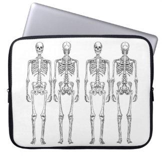 Skeleton Neopren-Laptop-Hülse 15 Zoll Laptopschutzhülle