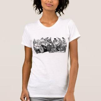 Skeleton Radfahrer durch José Guadalupe Posada T-Shirt