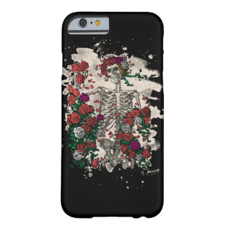 Skeleton & Roses – bleached Version Barely There iPhone 6 Hülle