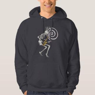 Skeleton Saxophon Hoodie