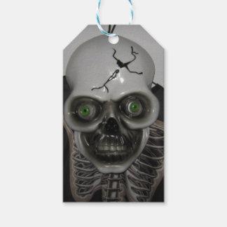 Skeleton Schädel Halloween Geschenkanhänger
