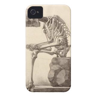 Skeleton Sitzen Case-Mate iPhone 4 Hülle