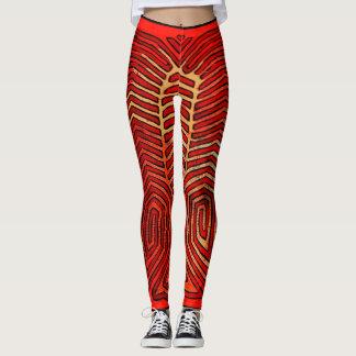 Skeleton Trainings-Gamaschen Leggings