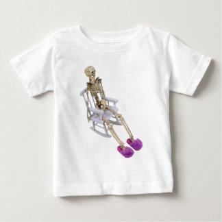 SkeletonFuzzySlippersRocker030310 Baby T-shirt