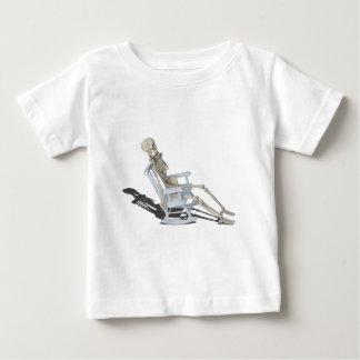 SkeletonRockingChair052414.png Baby T-shirt