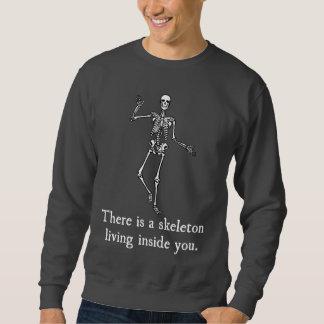 Skelett, das innerhalb Sie lebt Sweatshirt