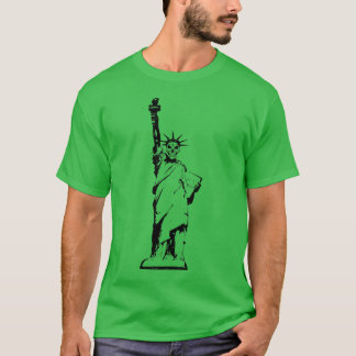 Skelett der Freiheit T-Shirt