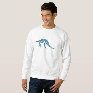 Skelett des Dinosauriers (Scelidosaurus) Sweatshirt