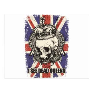 Skelett Großbritannien der Wellcoda Postkarte