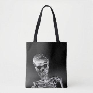 Skelett Tasche