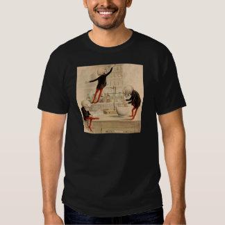 Skelettartige Apotheke T-Shirt