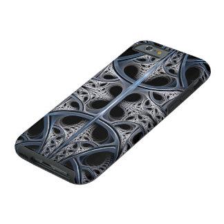 Skelettartige Hall-Fraktalkunst Tough iPhone 6 Hülle