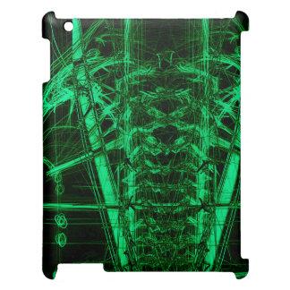 Skelettartiger Fall iPad Hülle
