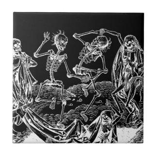 Skelette - Halloween Keramikfliese