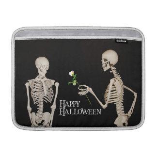 Skelette lustiges romantisches glückliches sleeve fürs MacBook air