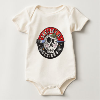 Skelley D entwirft Logo Baby Strampler