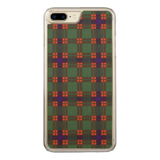 Skene Clan karierter schottischer Tartan Carved iPhone 8 Plus/7 Plus Hülle