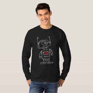 Sketchbot Herz an) T-Shirt