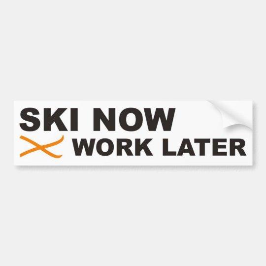 ski autoaufkleber