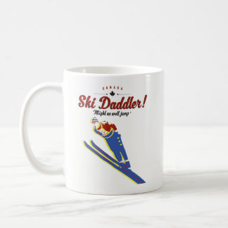 Ski daddler Tasse