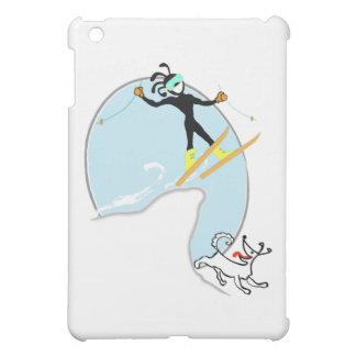 Ski fahren iPad mini hülle
