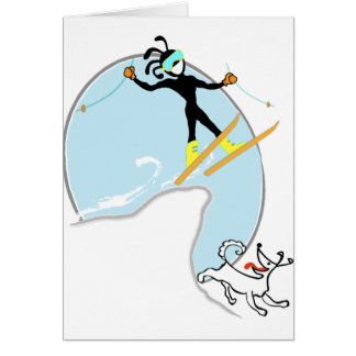 Ski fahren karte