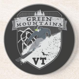 Ski-grüne Berge, VT Untersetzer