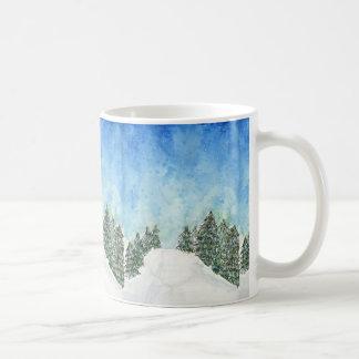 Ski-HinterTasse Kaffeetasse