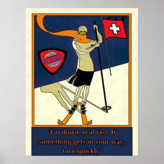 Ski-Uni-Plakat Poster