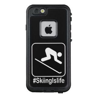 Skifahren ist Leben! LifeProof FRÄ' iPhone 6/6s Hülle