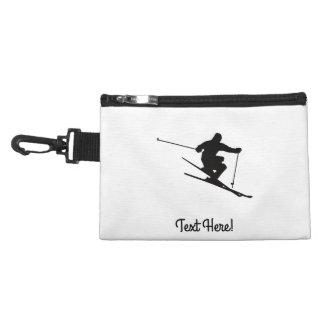 Skifahrer Kulturtasche