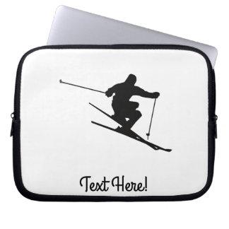 Skifahrer Laptop Sleeve