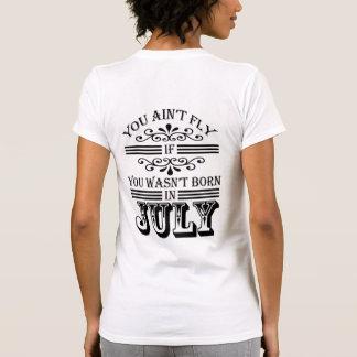 SKILLHAUSE - FLIEGE IM JULI (GOTISCHE SCHRIFT) T-Shirt