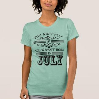 SKILLHAUSE - FLIEGE im Juli v2 (GOTISCHE SCHRIFT) T-Shirt