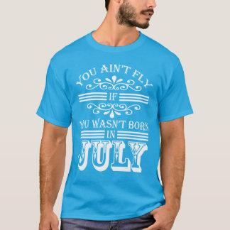 SKILLHAUSE - FLIEGE im Juli v2 (WEISSER BUCHSTABE) T-Shirt