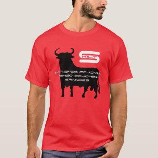 Skilt Spanisch Cojones T-Shirt
