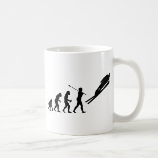 Skispringer Kaffeetasse