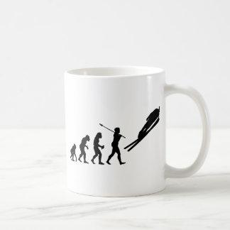 Skispringer Tasse