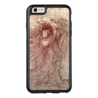 Skizze eines Brüllenlöwes OtterBox iPhone 6/6s Plus Hülle